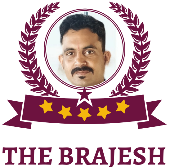 the brajesh logo